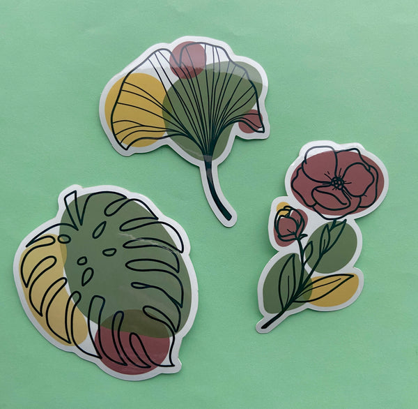 Leaves Sticker Pack