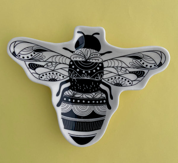 Sweet Bee Trinket Dish
