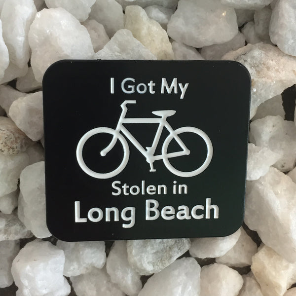 I Got My Bike Stolen Pin