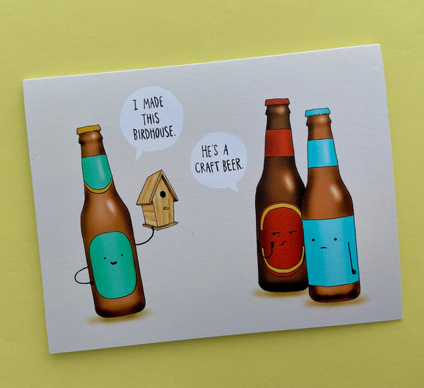 Craft Beer Card