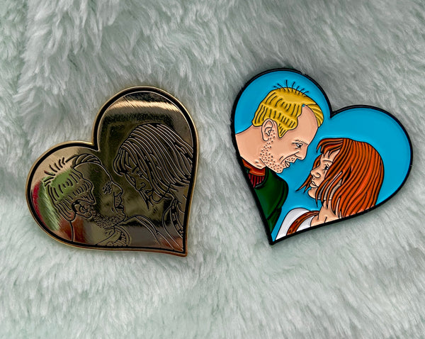 Fifth Element Heart Pin