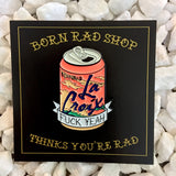 La Croix enamel pin by Born Rad