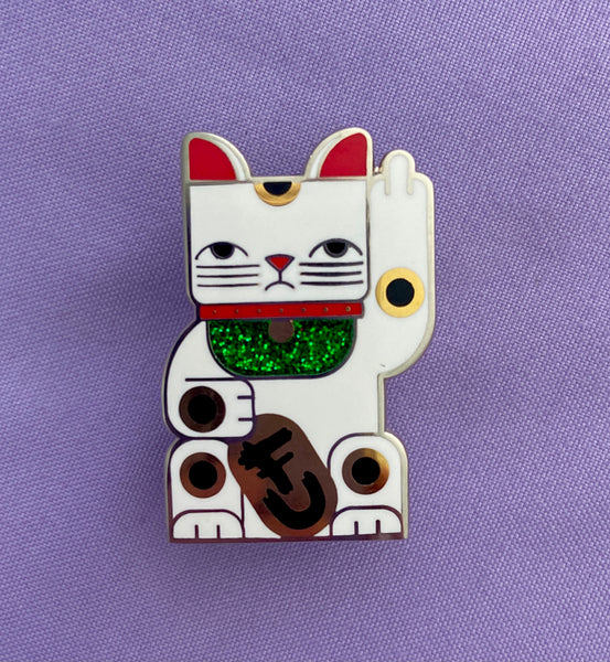 Goodbye Kitty Pin