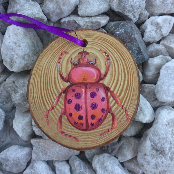 spotted beetle painting