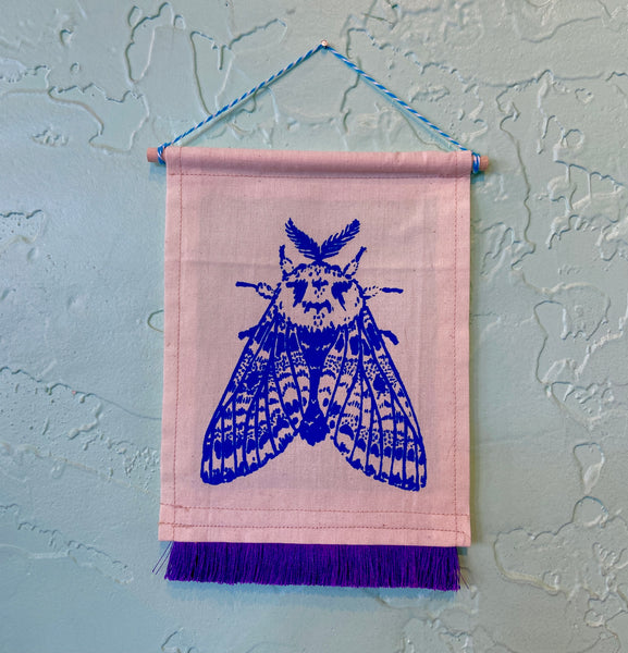 Moth Wall Hanging