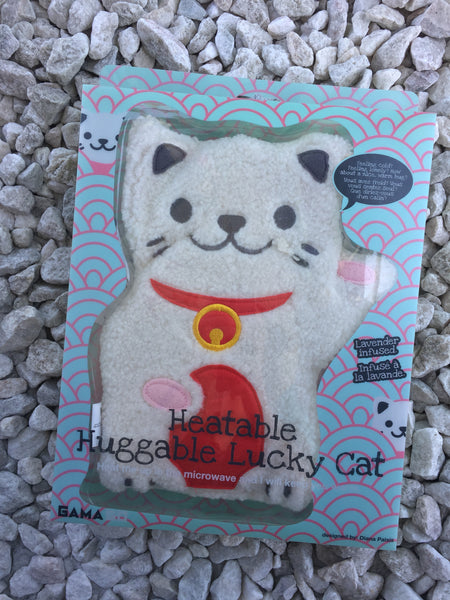 Heatable Huggable Lucky Cat