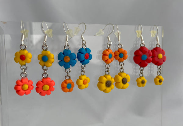 Bunk Bed Flower Earrings