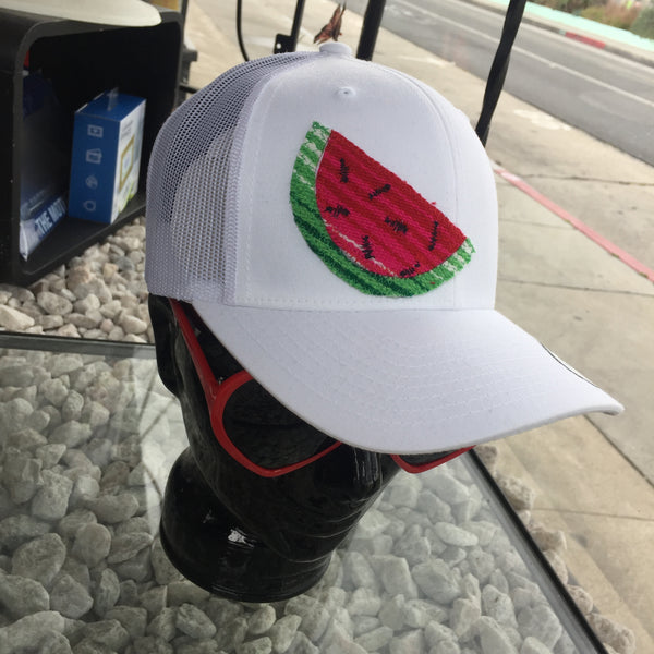 watermelon snapback hat