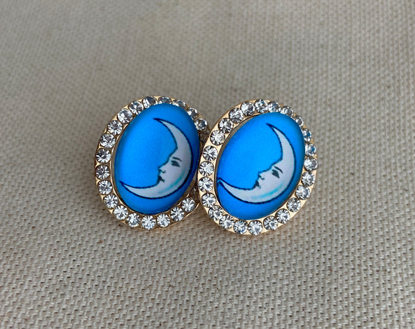 La Luna Loteria Post Earrings