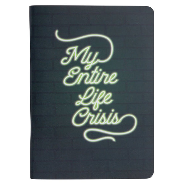 My Entire Life Crisis Pocket Notebook