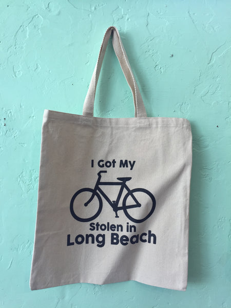 I Got My Bike Stolen In Long Beach Tote