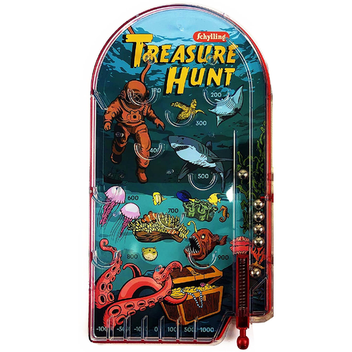 Treasure Hunt Pinball Game