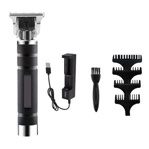Electric Pro Grooming Rechargeable Cordless Close Cutting T-Blade Trimmer