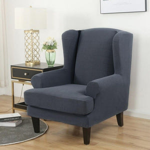 Wing back Chair Cover