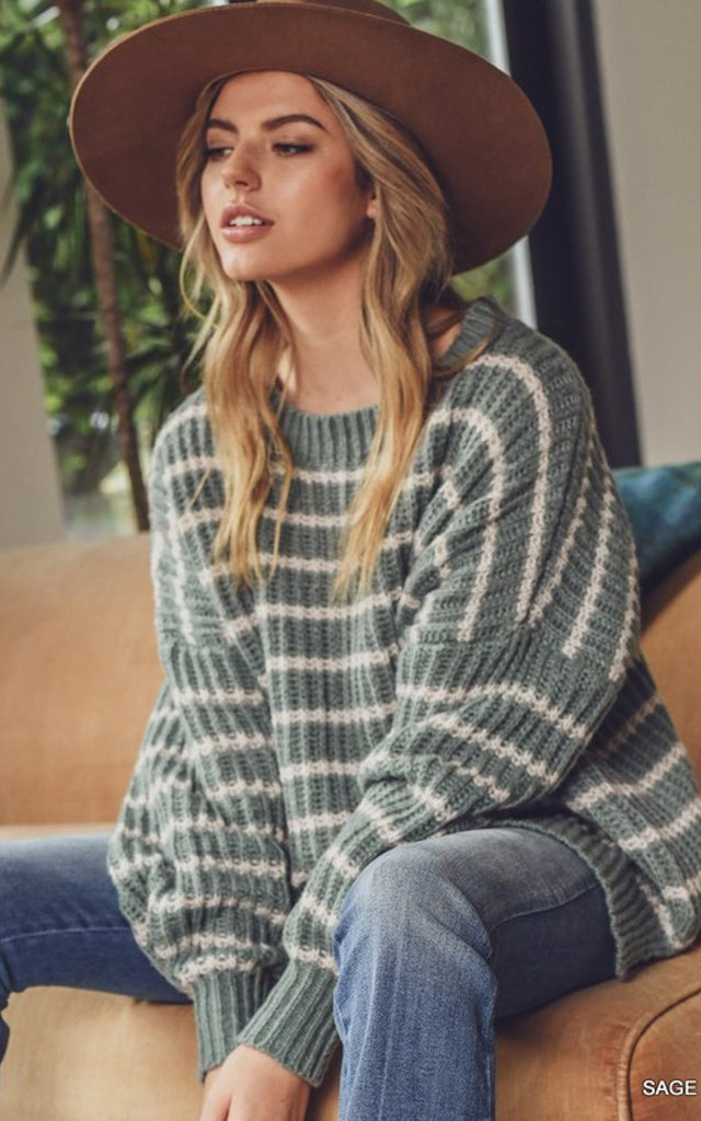 Olivia Striped Sweater
