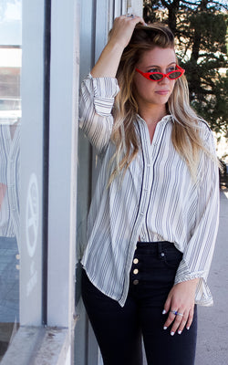 Rina Striped Top