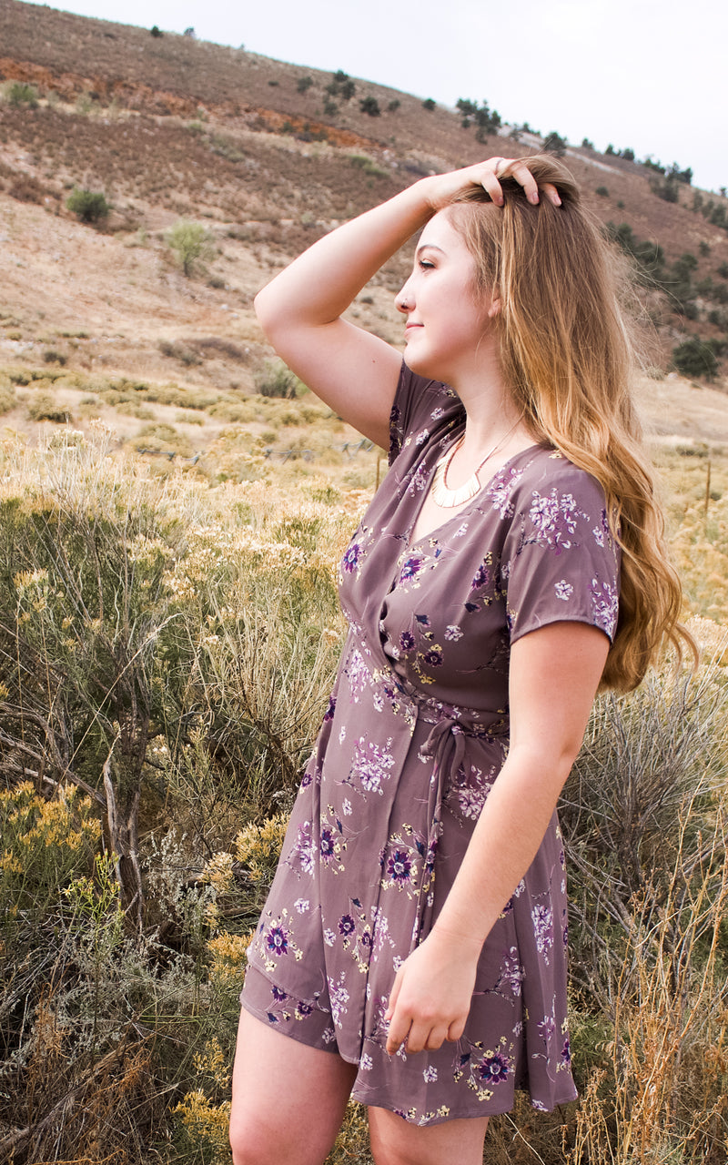 Be That Girl Wrap Dress
