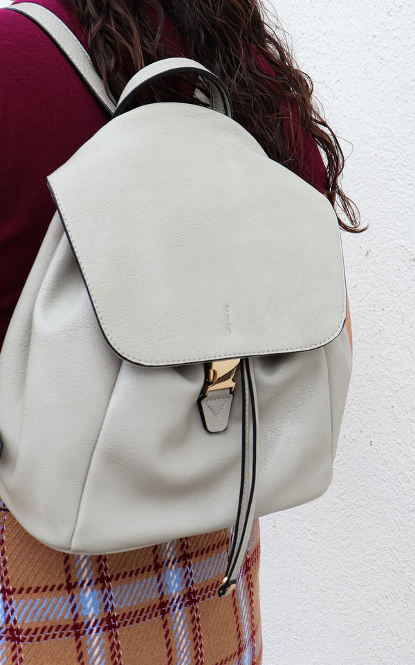 Sand Ties Backpack in Grey