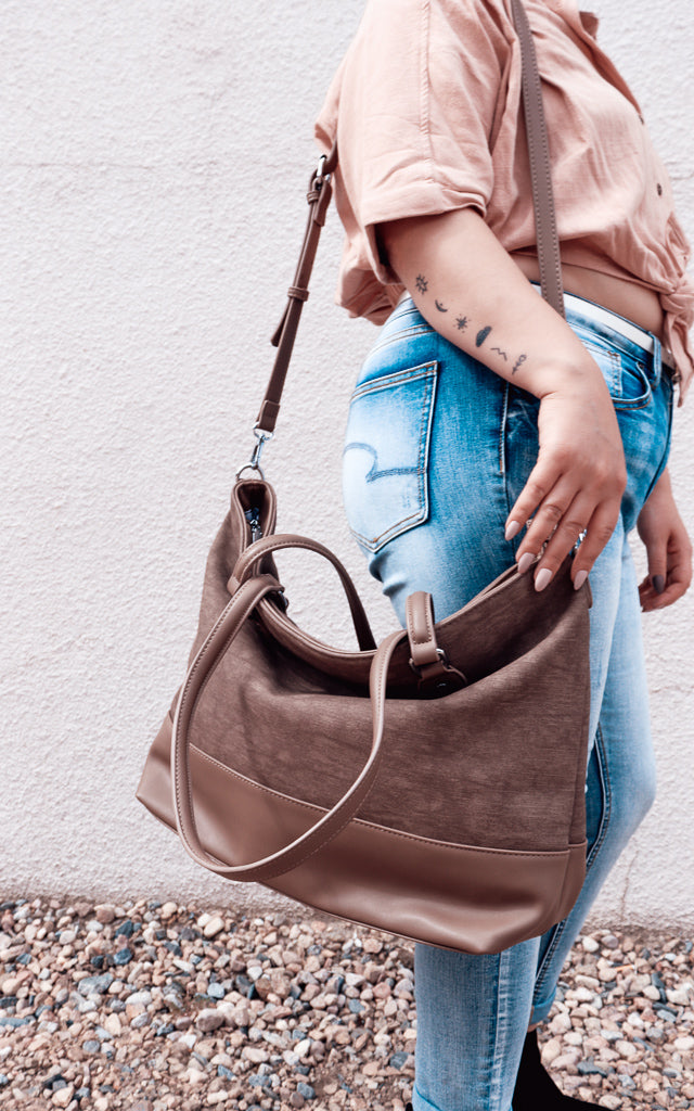 Coco Tote in Taupe