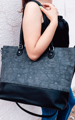 Coco Tote in Grey