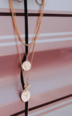 Lena Coin Layered Necklace
