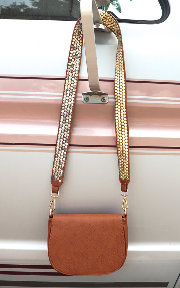 Sonido Crossbody in Tan