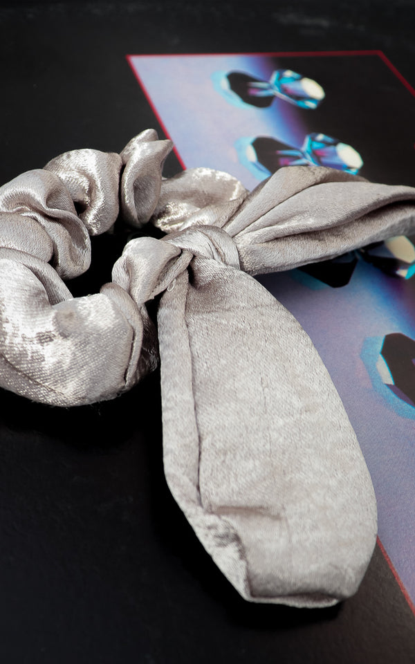 Shine On Bow Scrunchie