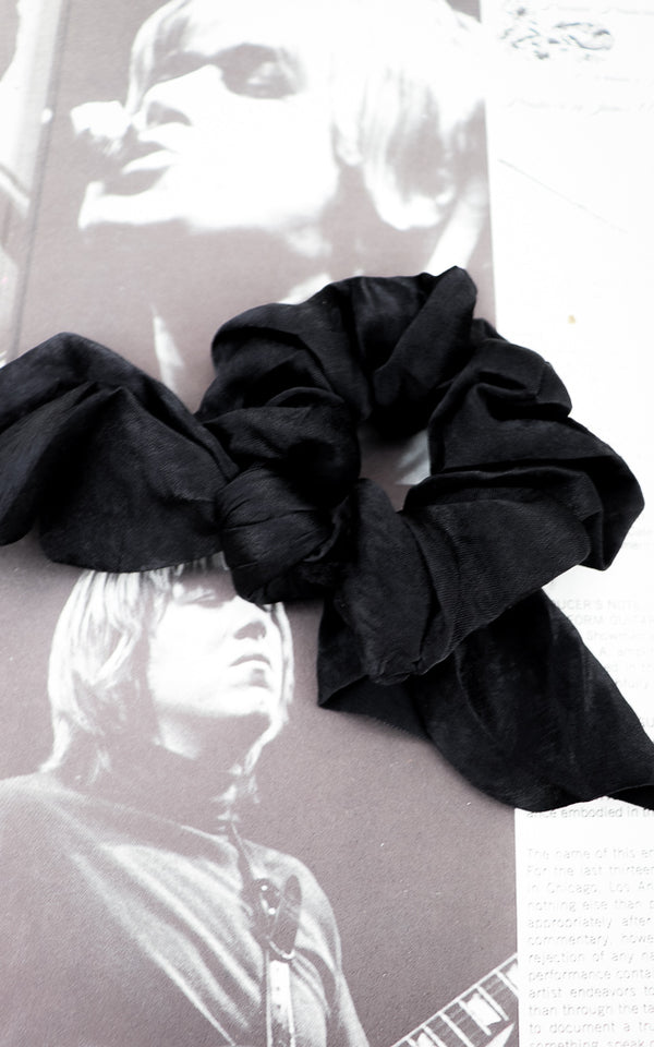 Rajah Satin Scrunchie
