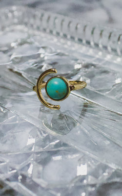Turquoise Lady Ring