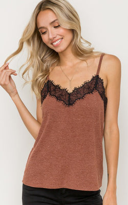 Char Knit Camisole