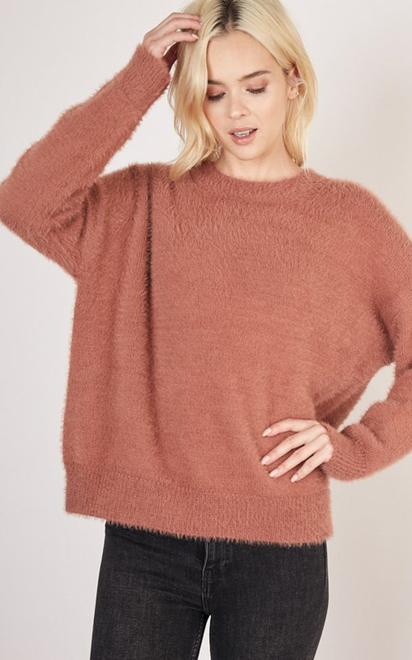 Afterglow Angora Sweater