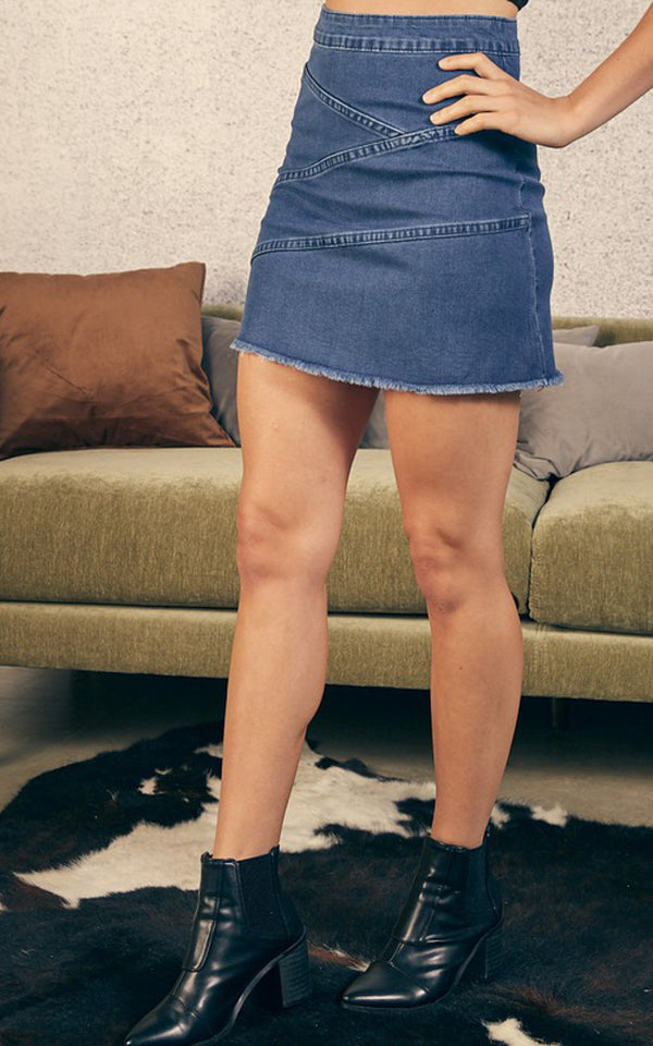 Maggie Denim Skirt