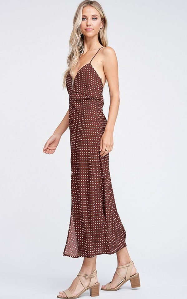 Adeline Pindot Maxi Dress