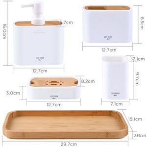 Bathroom Accessory Set 5 Pieces