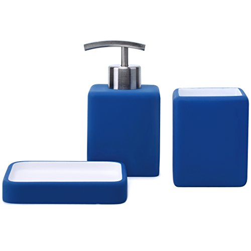 Bathroom Soap Dispenser, Tumbler, Soap Dish