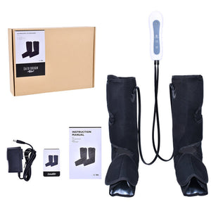 Leg Massager Air Compression Leg Wraps for Foot and Calf Circulation