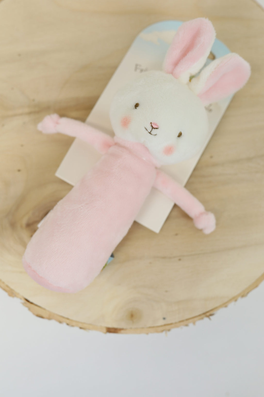 Blossom the Bunny - Friendly Chime Rattle