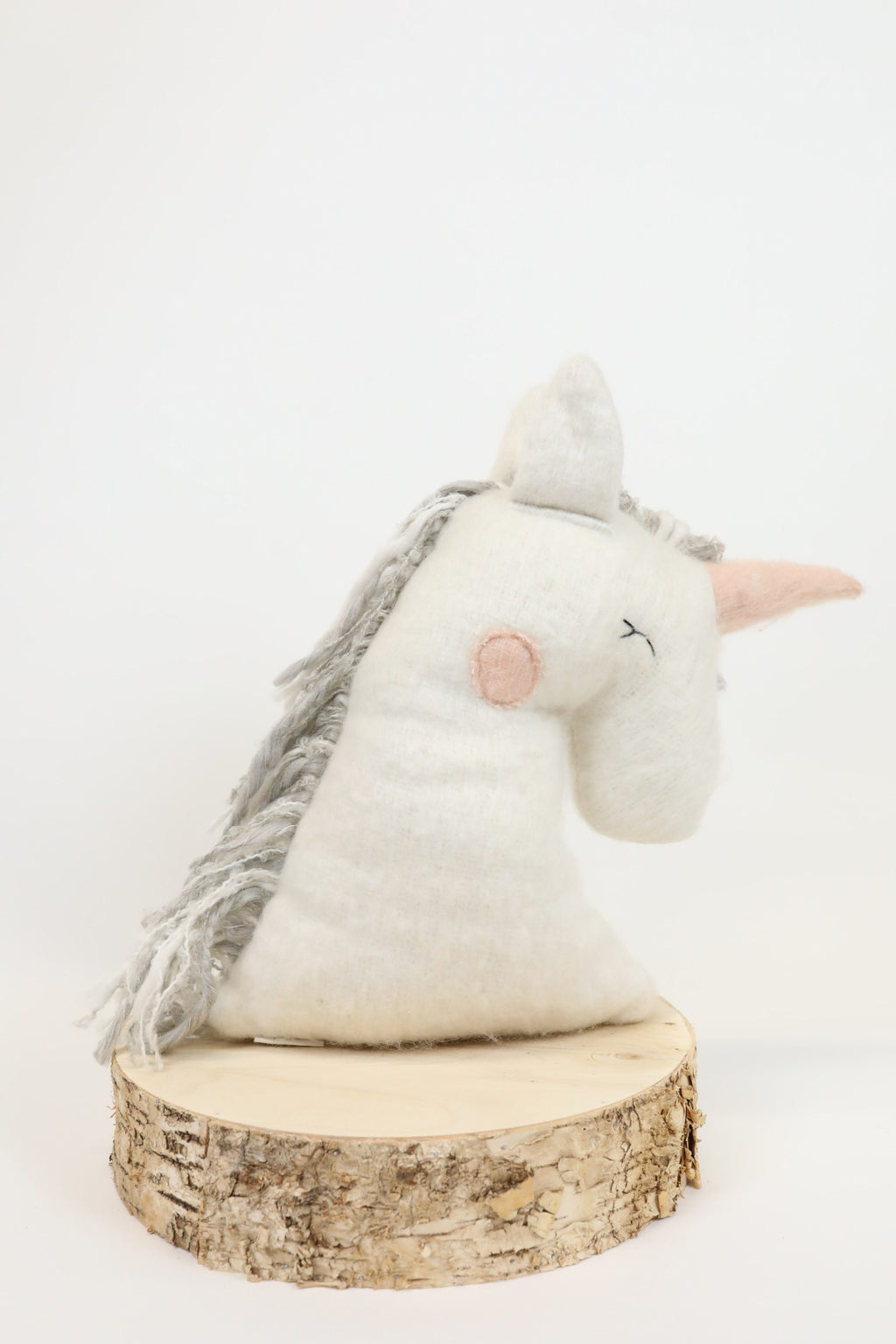 Unicorn Pillow - White