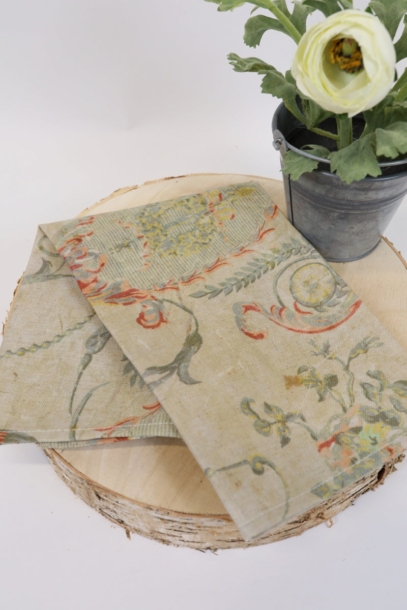 Floral Cloth Napkin