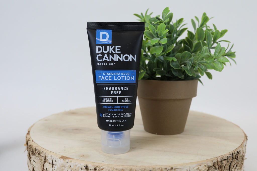 Duke Cannon Face Lotion - Travel Size