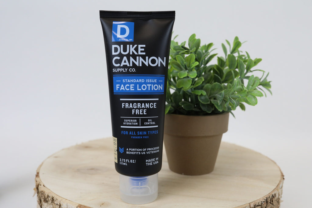 Duke Cannon Face Lotion
