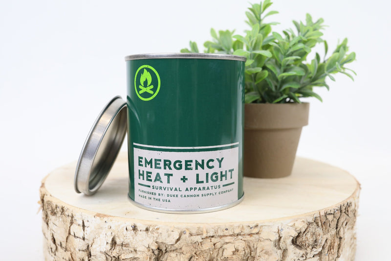 Emergency Heat and Light Candle - Fresh Cut Pine