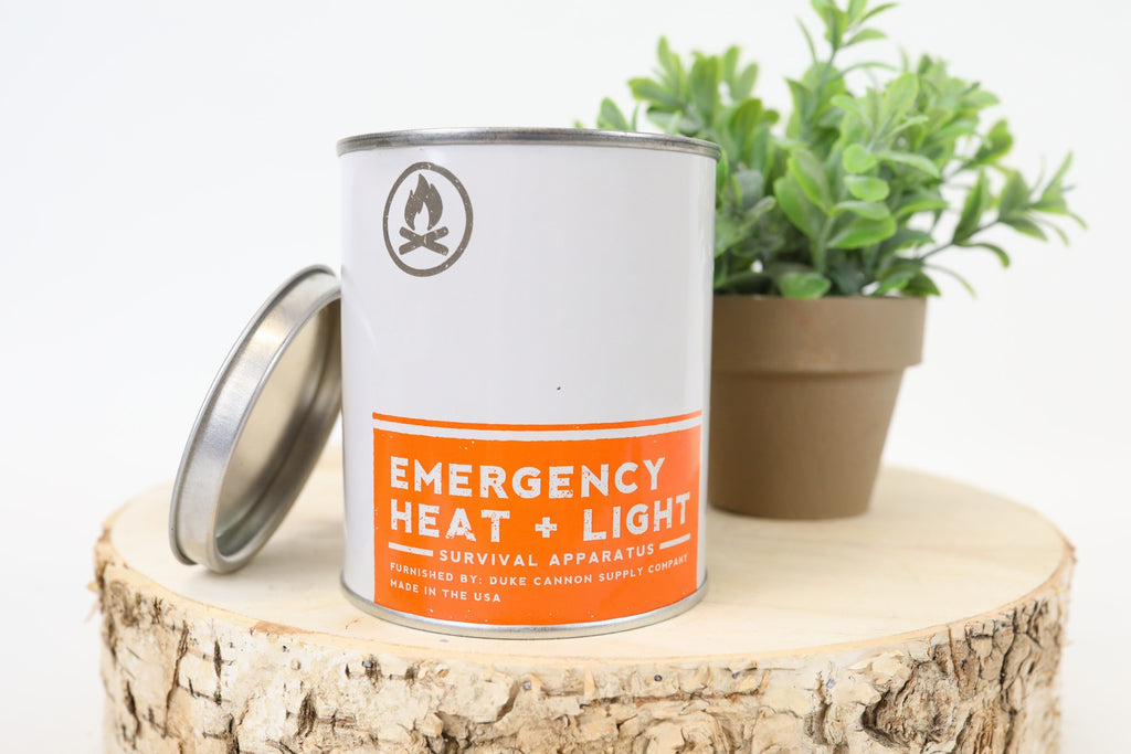 Emergency Heat and Light Candle- Campfire
