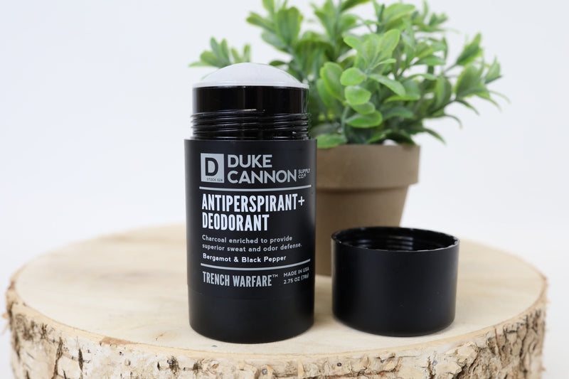 Antiperspirant and Deodorant - Bergamot and Black Pepper