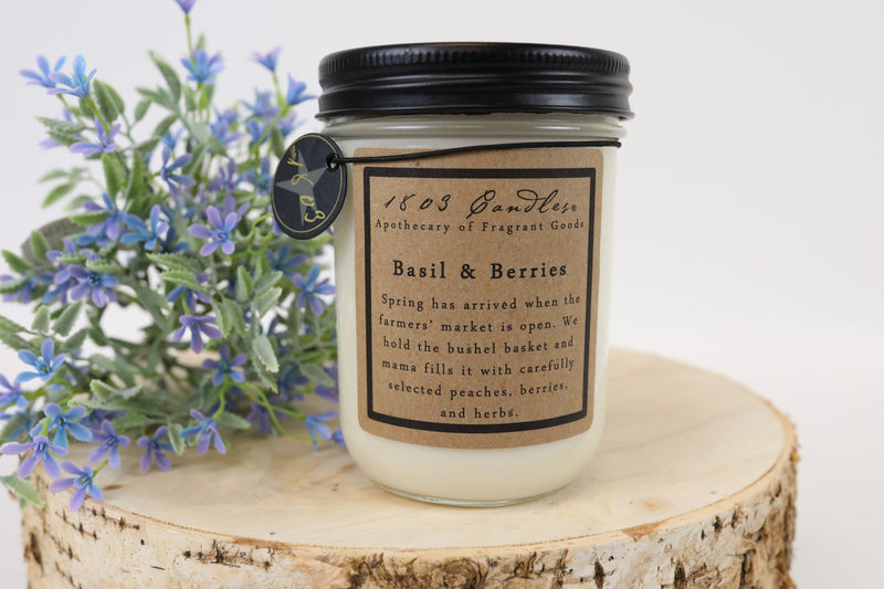 1803 - Basil & Berries - Candle