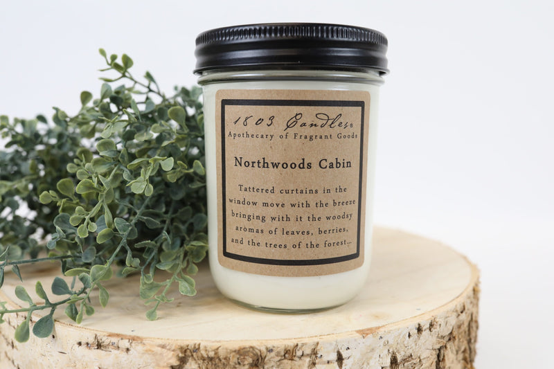 1803 - Northwoods Cabin - Candle