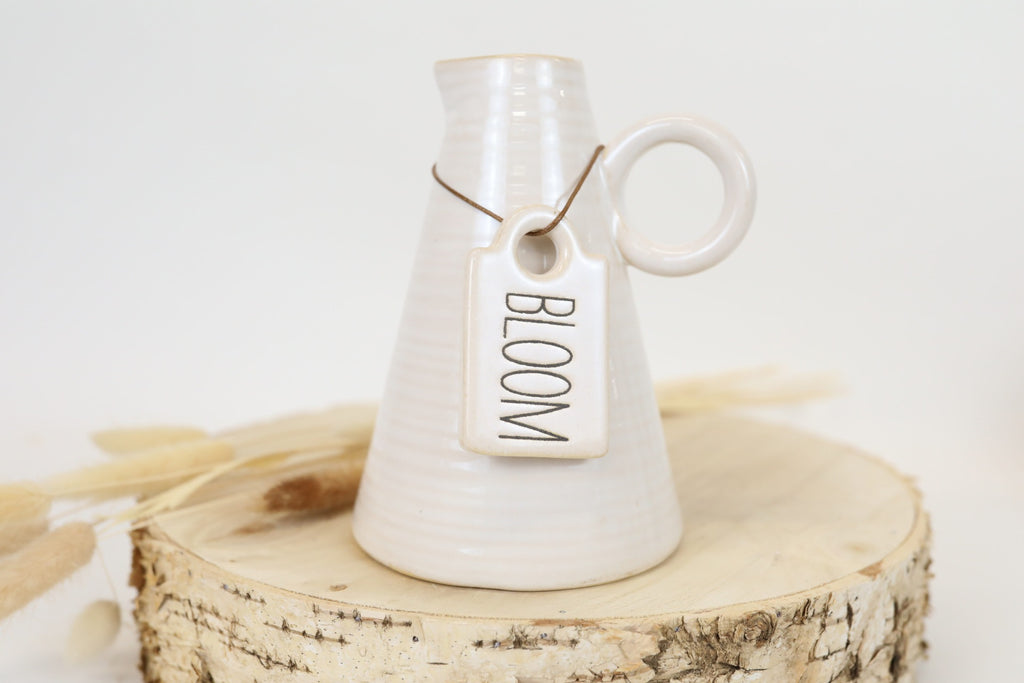 Bloom Tagged Vase