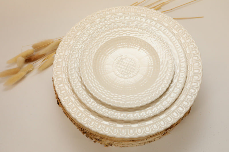 Basketweave Salad Plate