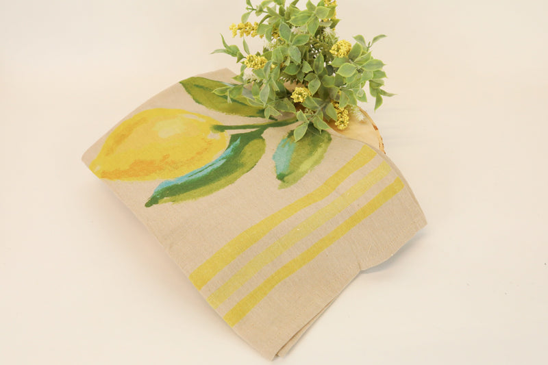 Citrus Cotton Tea Towels - 3 Styles