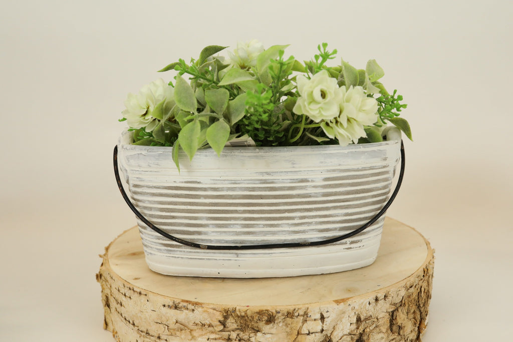 Cement Tub Planter